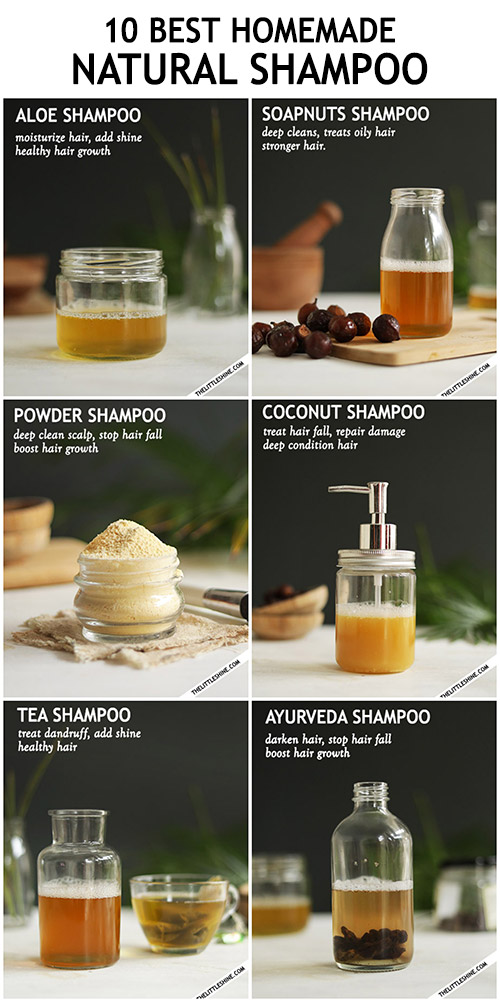 NATURAL ORGANIC DIY SHAMPOO