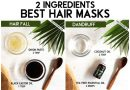 TOP 6 HAIR MASKS TO TREAT ALL HAIR PROBLEMS NATURALLY