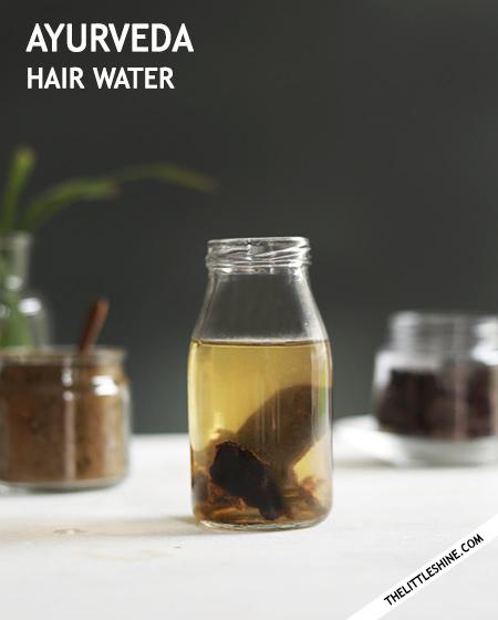 AYURVEDA HAIR WATER -