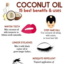 COCONUT OIL - 15 best benefits and uses for health and beauty