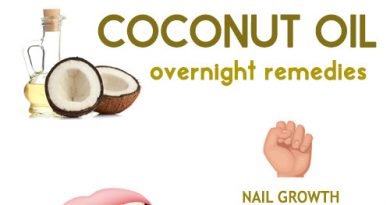 Overnight coconut oil remedies