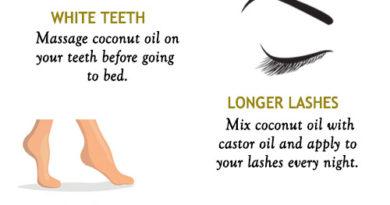 Overnight coconut oil remedies