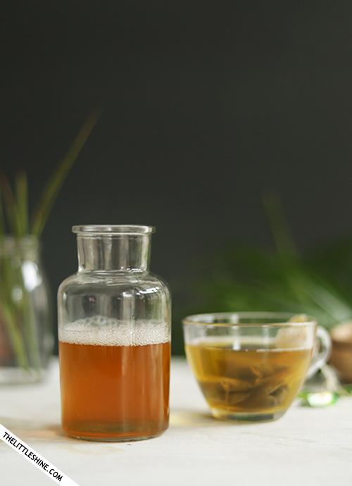 GREEN TEA SHAMPOO for healthy hair growth