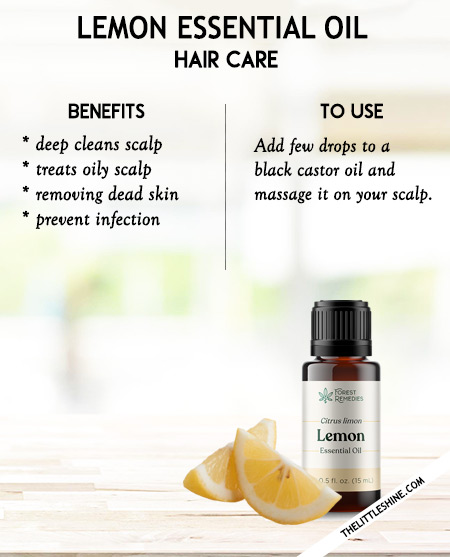 Lemon essential oil -