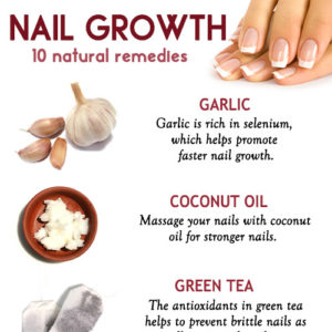 10 Remedies for faster and stronger nail growth
