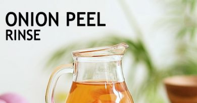 ONION PEEL FOR HEALTHY HAIR GROWTH