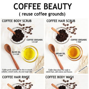 COFFEE BEAUTY - REUSE COFFEE GROUNDS