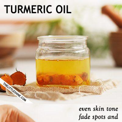 HOW TO MAKE TURMERIC OIL