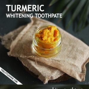 TURMERIC TEETH WHITENING TOOTHPASTE