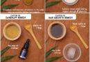 OVERNIGHT HAIR MASKS using castor oil