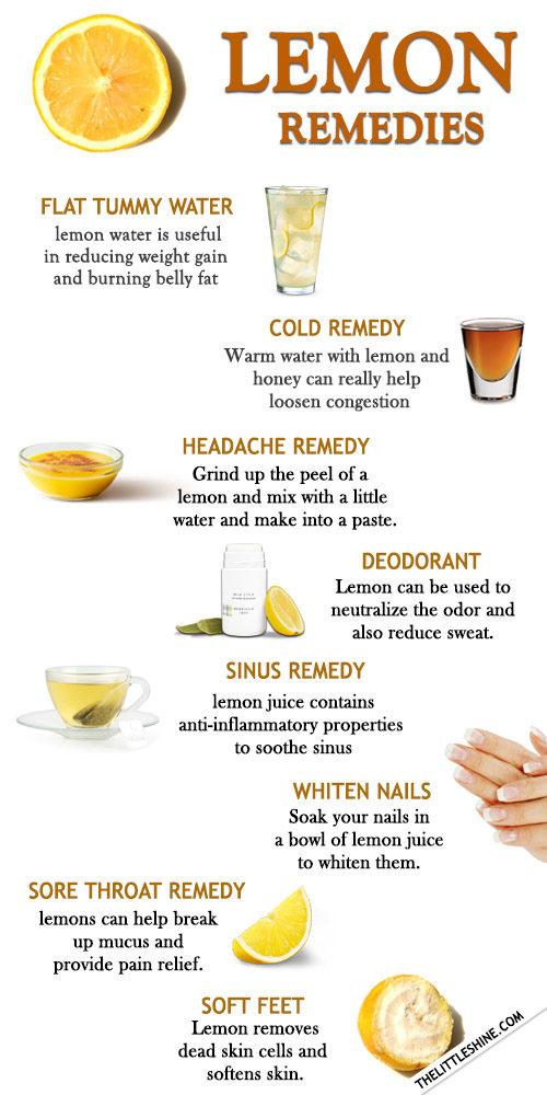 Lemon - benefits and uses