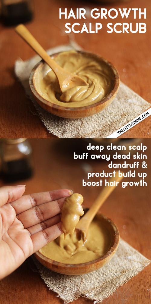 SCALP SCRUB FOR HAIR GROWTH