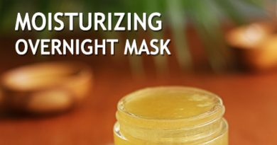 Moisturizing Overnight face mask