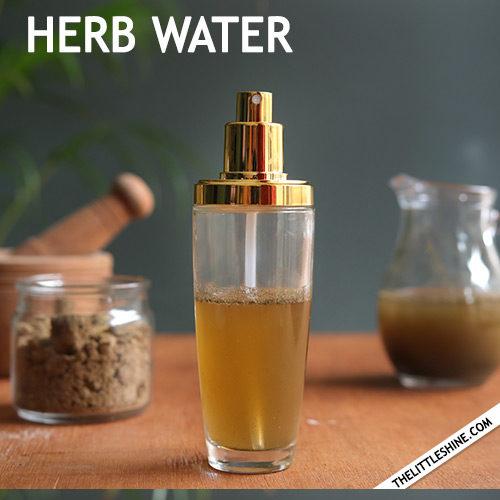 HERB HAIR WATER - hair thickening