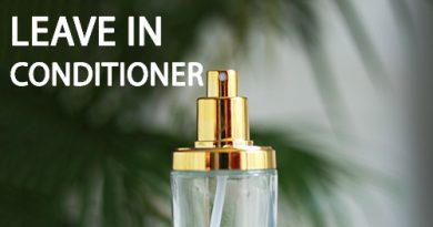 Aloe Leave in spray conditioner to repair hair