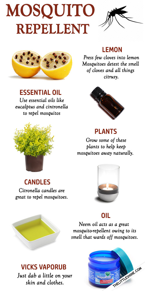 MOSQUITO REPELLENT NATURAL REMEDIES