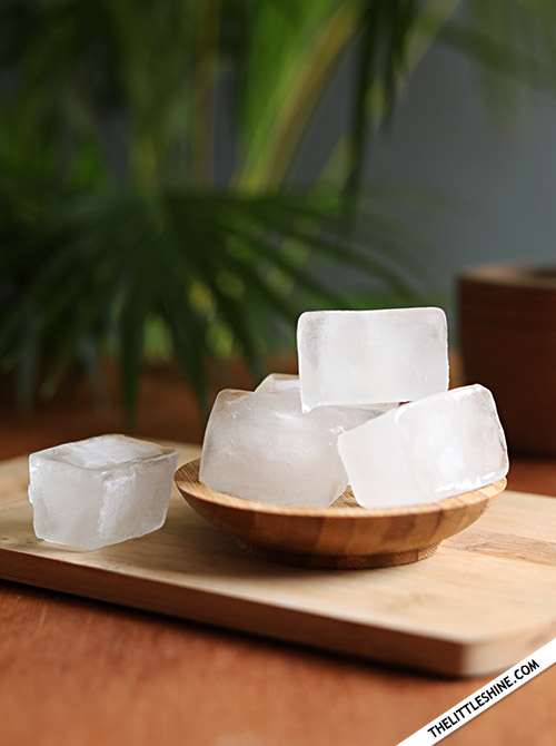 RICE WATER HAIR CUBES for beautiful hair