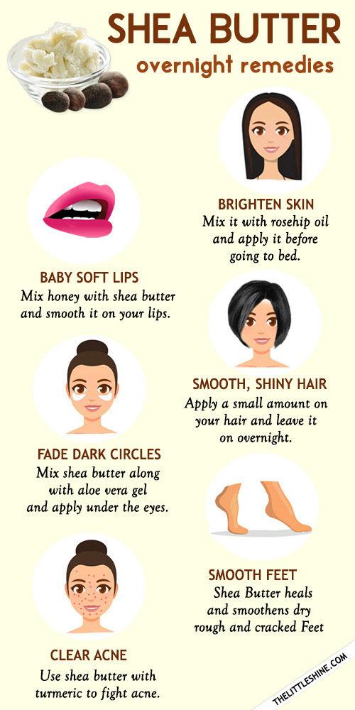 8 best overnight remedies using shea butter