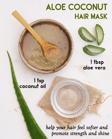 Aloe coconut Hair Mask -