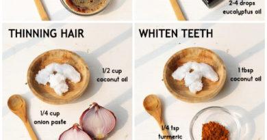 Coconut oil remedies