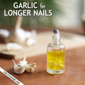 GARLIC NAIL GROWTH - longer stronger nails