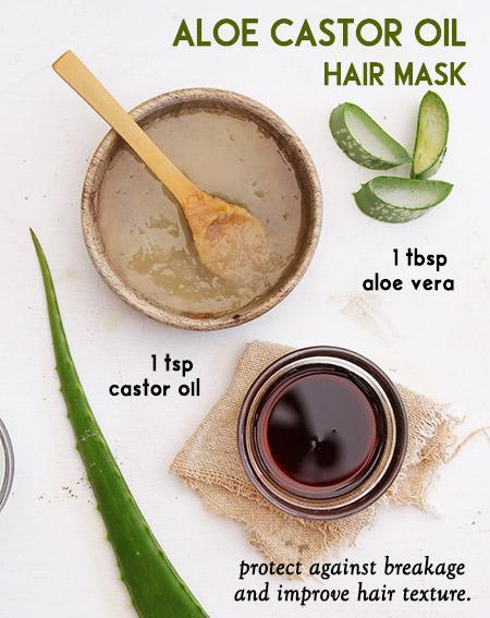 Aloe Castor Oil Hair Mask -
