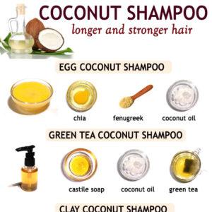 COCONUT OIL SHAMPOO RECIPES
