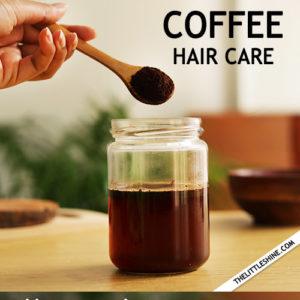 COFFEE HAIR SPRAY - add amazing shine and softness