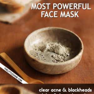 MOST POWERFUL FACE AND BODY MASK - fight acne, blackheads, and clear skin
