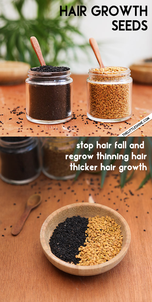 HAIR GROWTH SEEDS - regrow thinning hair