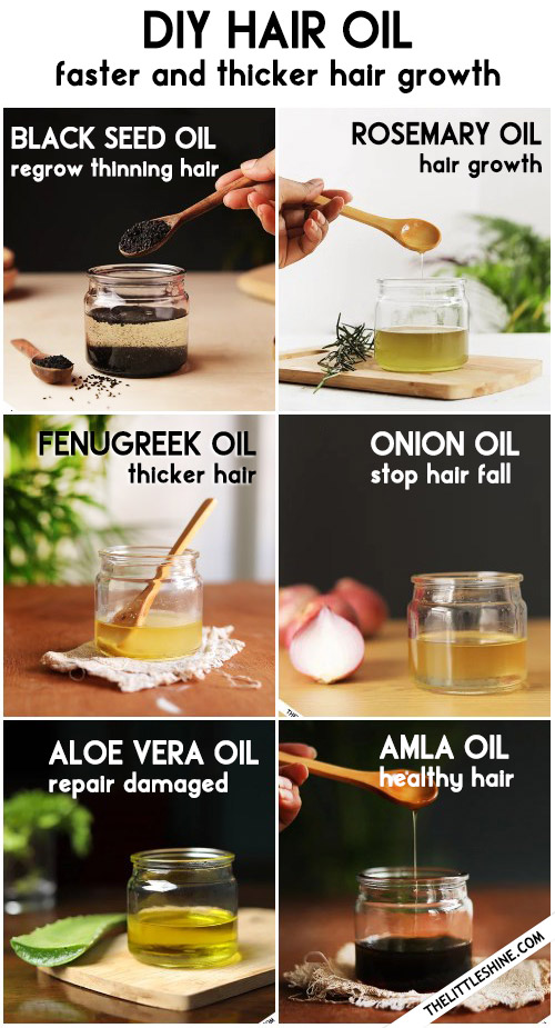 HOMEMADE NATURAL HAIR OIL RECIPE