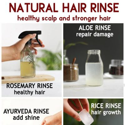 Hair Rinse for a healthy scalp and stronger hair