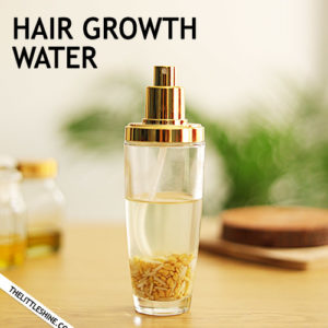 HAIR GROWTH WATER - longer, stronger hair