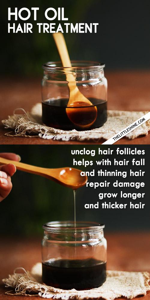 Hot Oil Hair Treatment