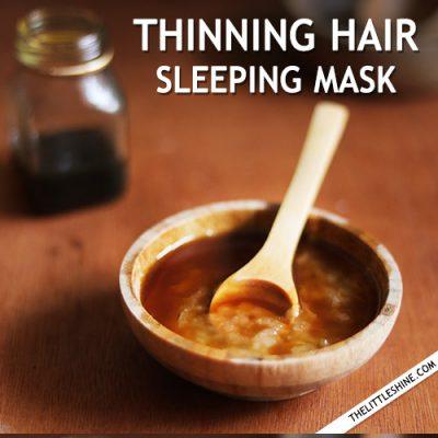 THINNING HAIR SLEEPING MASK