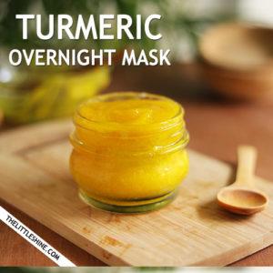 Turmeric Sleeping Mask for clear skin