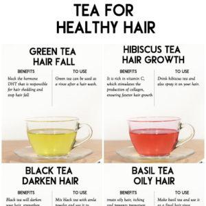 USE TEA FOR BEAUTIFUL GORGEOUS HAIR