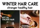 WINTER HAIR CARE - smooth dry winter hair
