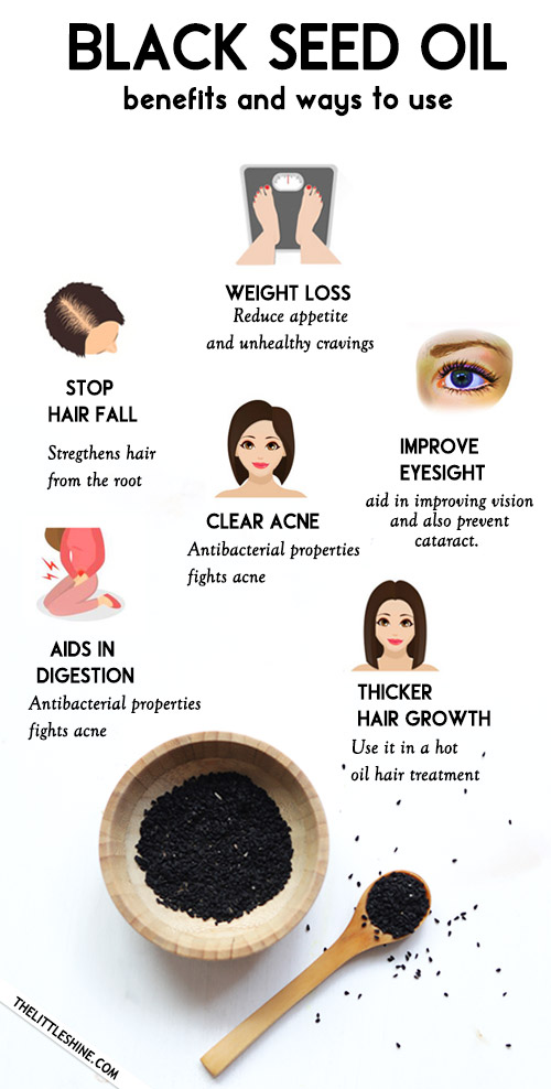Health And Beauty Benefits Of Black Seeds Oil - kalonji oil