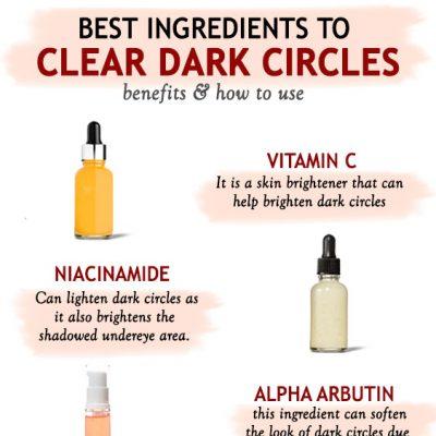Best Ingredients To Clear Dark Circles