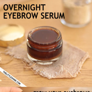 Overnight Eyebrow Growth Serum for thicker and darker eyebrows