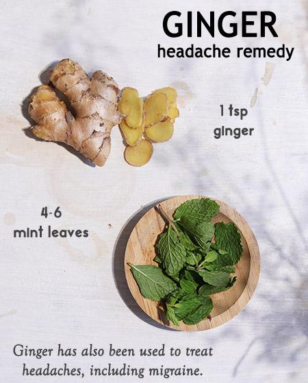 ginger-headache