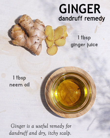 BENEFITS OF GINGER FOR HAIR: