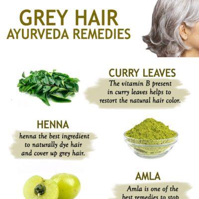 Ayurvedic Remedies to stop and reverse Grey Hair