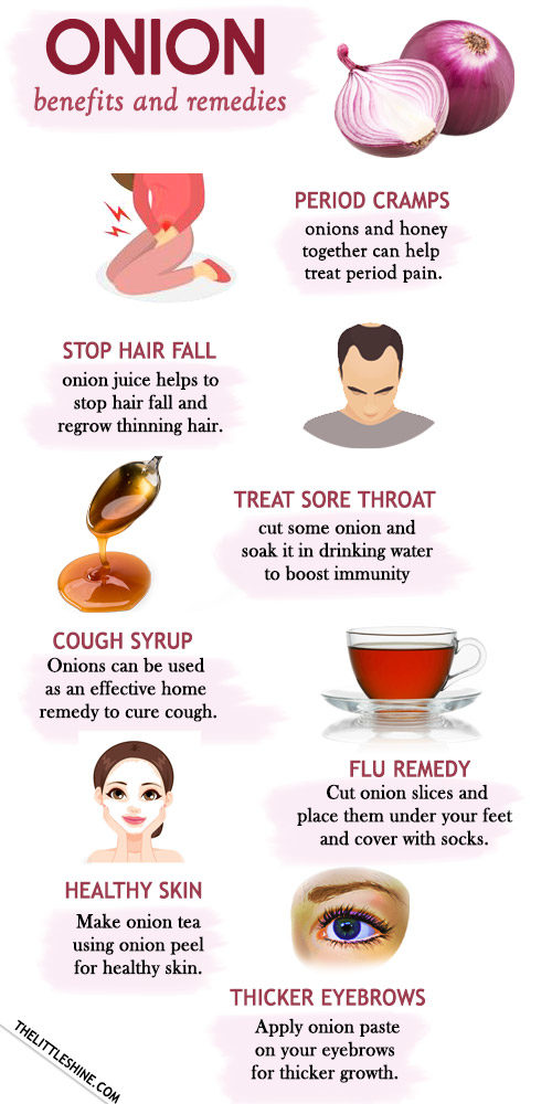 ONION - benefits and remedies