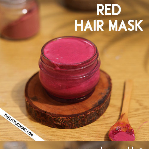 RED HAIR MASK for faster hair growth and add shine