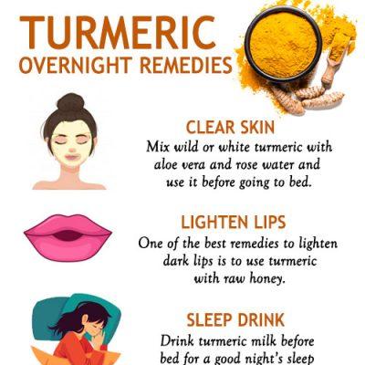 Turmeric Overnight Remedies