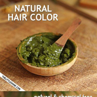 ALL NATURAL HENNA HAIR DYE