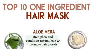 TOP 10 ONE INGREDIENT HAIR MASK for hair growth