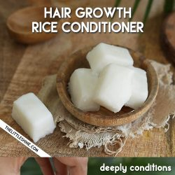 RICE HAIR CONDITIONER CUBES